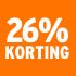 O_26% korting