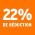 O_22% de réduction
