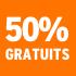 O_50% gratuits