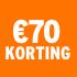 O_€70 korting