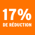 O_17% de réduction
