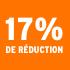 O_17% de réduction