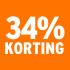 O_34% korting