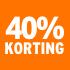 O_40% korting