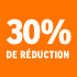 O_30% de réduction