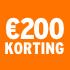 O_€200 korting
