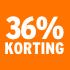 O_36% korting